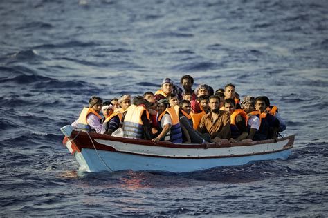 refugee on boat romania stops black sea boats carrying 200 migrants the