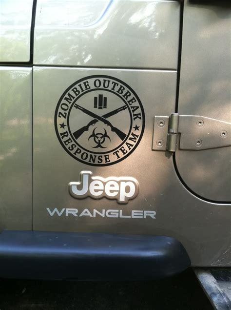 zombie jeep decals supdec zombie vinyl stickers decals