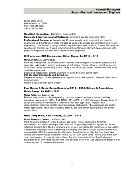 experienced instrumentation engineer resume format instrumentation project engineer resume resume ideas