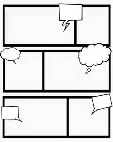 Printable Blank Comic Template For by 7 Best Images Of Comic Book Templates Printable Free