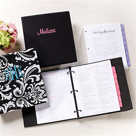Wedding Planner Organizer by Personalized Wedding Organizer Exclusive Wedding Planner