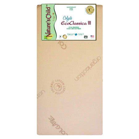 colgate classica foam crib mattress colgate eco classica iii dual firmness foam crib mattress
