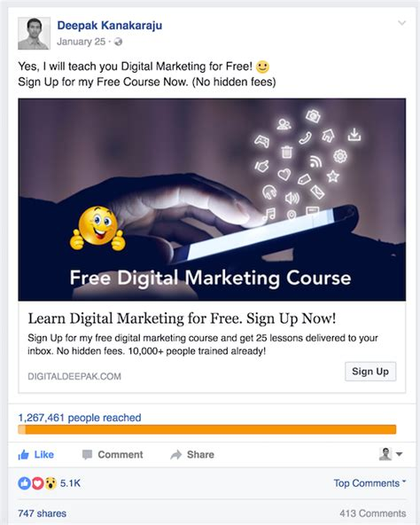 fb ads gratis why does your facebook ad cost increase over time