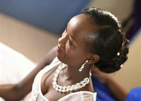 kenyan bridal hairstyles beautiful photos from the luxurious valentine s day
