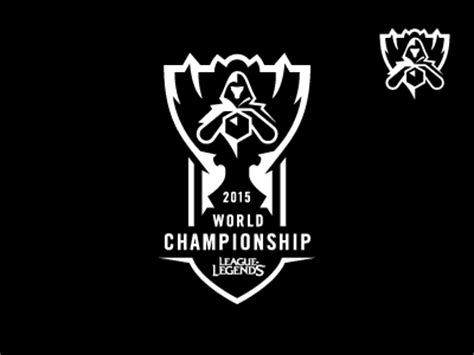 Hoodie League Of Legends World Logo 2015 lol world chionship by ricky dribbble