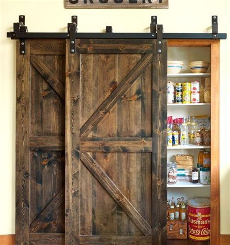 Barn Door Rails System 25 Best Ideas About Barn Door Track System On Farmhouse Closet Organizers Sliding