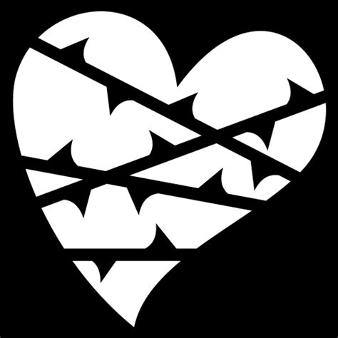 Wrapped heart icon | Game-icons.net