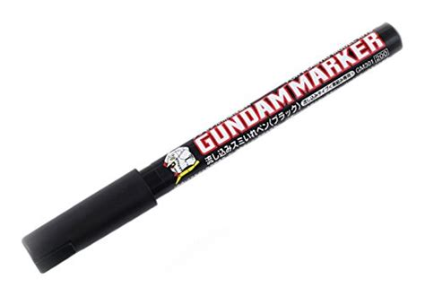 Gundam Gm 10 Marker Black discount 20 1 x gm301 black gundam marker to pour paint