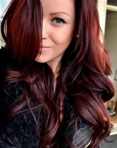 mahogany red hair with high lights 1000 ideas about mahogany hair colors on pinterest