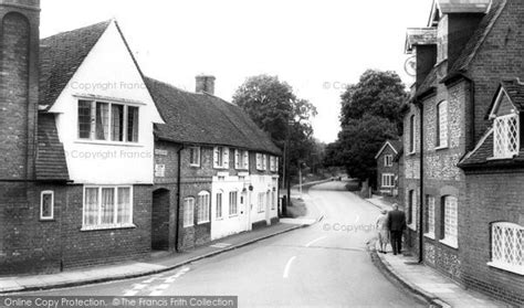 Chesham Cottage Menu by Chesham Church C 1965 Francis Frith