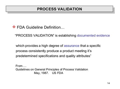 design validation definition fda principle of validation and qualification
