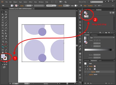 how to fill color in illustrator change vector fill colors in corel graphic design stack