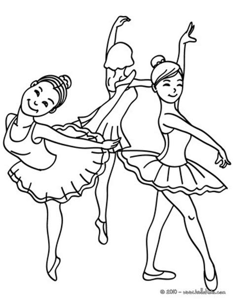 coloring pages of dancing girl group of young ballet dancers coloring pages hellokids com