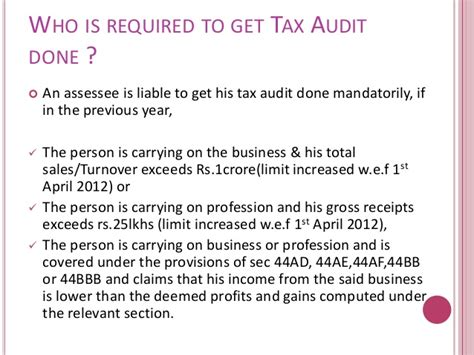 Section 5 Of Income Tax Act by Tax Audit Section 44ab Of Income Tax Act 1961