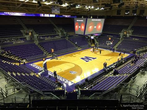 Alaska Court View Search Alaska Airlines Arena Section 3 Rateyourseats