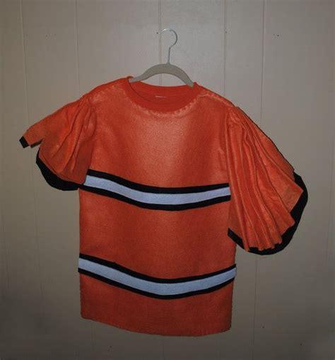 nemo costume diy fish costume ideas nemo fish inspired costume clown fish by alphabetcircus 49 00