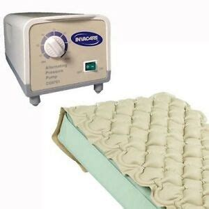 invacare cg9701 alternating pressure hospital bed mattress air padapp pad ebay