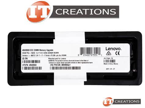 Lenovo Server Memory 32gb 46w0833 by 46w0833 Retail Retail Lenovo Sk Hynix 32gb Pc4 19200