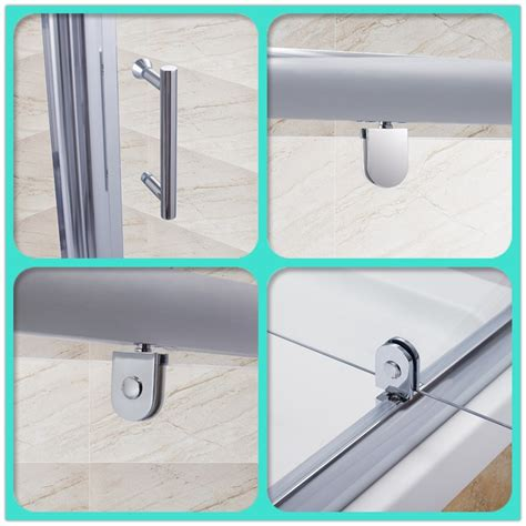 Pivot Hinges For Shower Doors Pivot Hinge Shower Door Enclosure Screen 700 760 800 900 1000mm Safety Glass Ebay