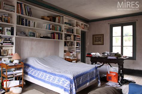 biblioth鑷ue chambre chambre avec grande biblioth 232 que murale c0679 mires