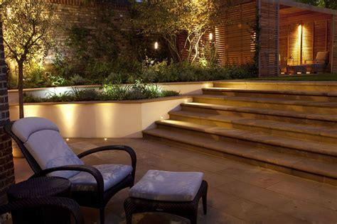 garden outdoor wall lighting festive garden lighting