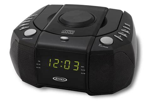 jensen amfm dual alarm clock radio  cd player tvs