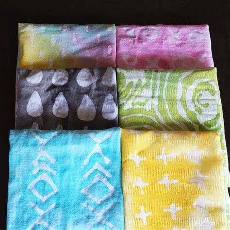 acrylic paint tie dye make design your own textiles
