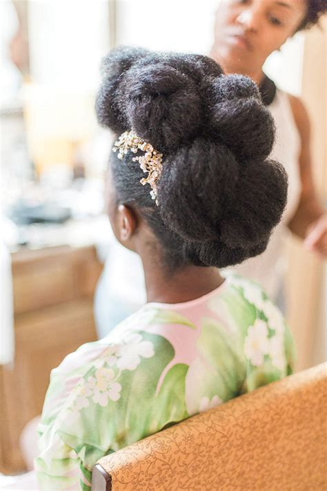 Haitian Hairstyles by Vintage Garden Themed Wedding In Florida Roselyne Terry