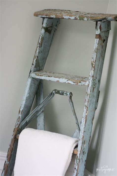 bathroom towel ladder wood let the search begin for an old wooden step ladder