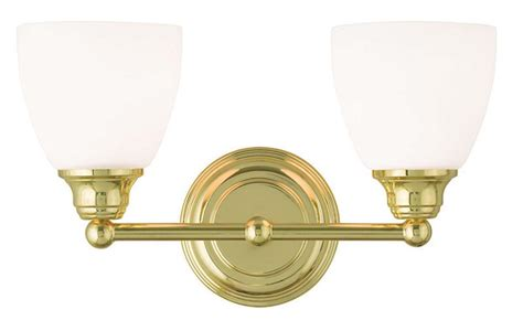 Polished Brass Vanity Lights 2 Light Polished Brass Somerville Livex Bathroom Vanity Fixture Sale 13662 02 Ebay