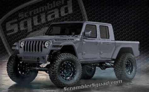 2020 Jeep Gladiator Lifted by What If Your 2020 Jeep Gladiator Scrambler Truck Was