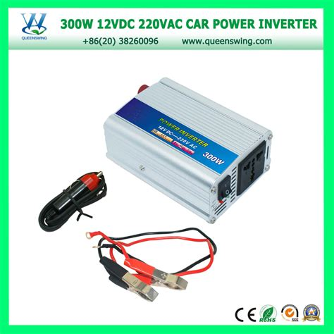 Power Inverter 12vdc To 220vac 300w Berkualitas queenswing 12vdc 220vac 300w car power inverter with battery cl car cigarette qw 300w in