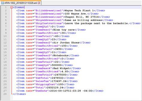 download xml invoice template rabitah net