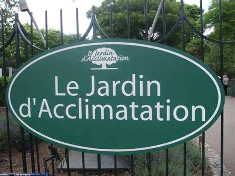 Entree Jardin D Acclimatation