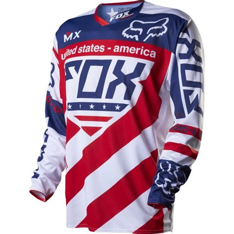 motocross races 2014 maillot fox racing 360 mx of nations usa replica 2014