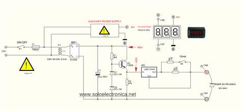 zener diode schematic zener diode meter 1v to 50v