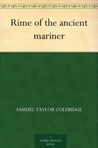 the rime of the ancient mariner testo rime of the ancient mariner edition