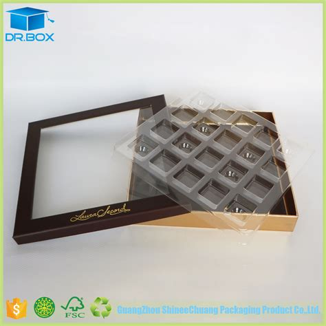 clear chocolate clear plastic chocolate boxes wholesale transparent