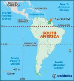 map of suriname south america suriname map geography of suriname map of suriname