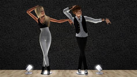 Pics Of Michael Jackson Posing With Half by My Sims 3 Poses Michael Jackson Posepack By