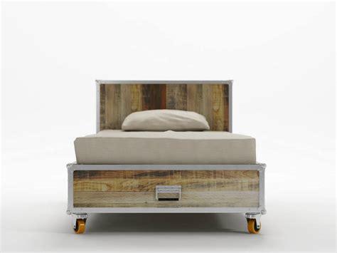 letto singolo in legno letto singolo in legno con ruote roadie letto singolo