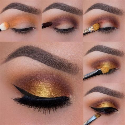Tutorial Gisele Golden Look by Foiled Sunset Photo Tutorial Tutoriels Ombre 224 Paupi 232 Res