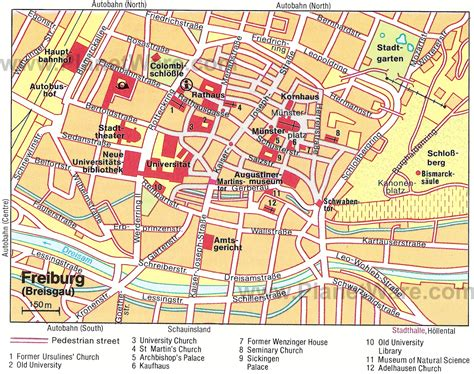 map of freiburg 14 top tourist attractions in the black forest