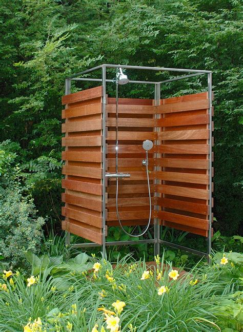 outdoor shower ideas for fantastic summer