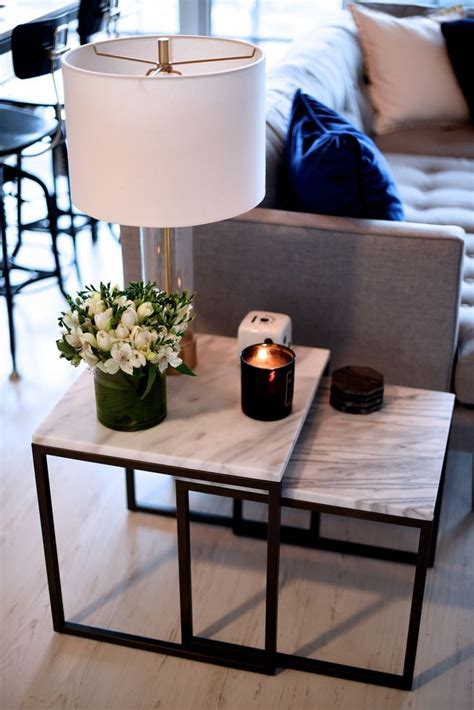 side table decor 25 best ideas about living room side tables on pinterest