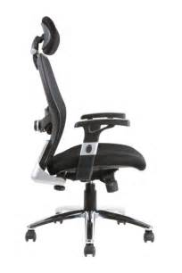 Office Chair Back Support Sanderson Luxury Mesh Back Office Chair Inc Lumbar Support