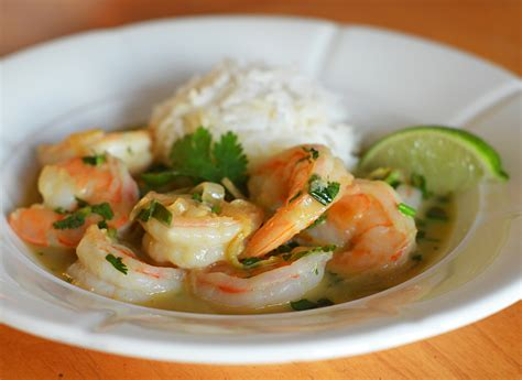 Curried Shrimp by Thai Coconut Curry Shrimp Recipe Dishmaps
