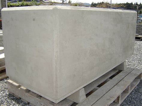 Barrier Planters by Barrier Rectangular Planter Mackay Precast Products