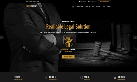 bootstrap themes lawyer lawyer bootstrap template id 300111925 from bootstrap