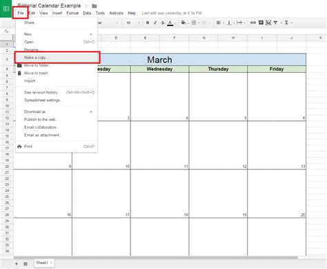 make a template calendar template docs printable calendar templates